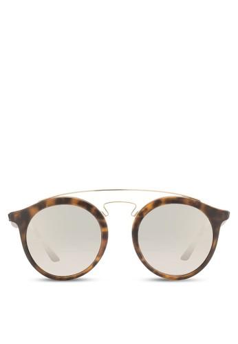 RB4256F 粗圓框太esprit outlet 台中陽眼鏡, 飾品配件, 飾品配件