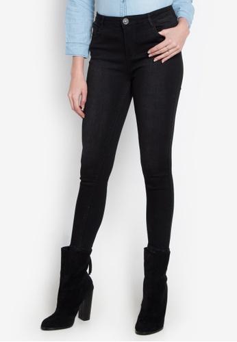 Hot Kiss black Ladies Pants Jeans HO592AA0K9HJPH_1