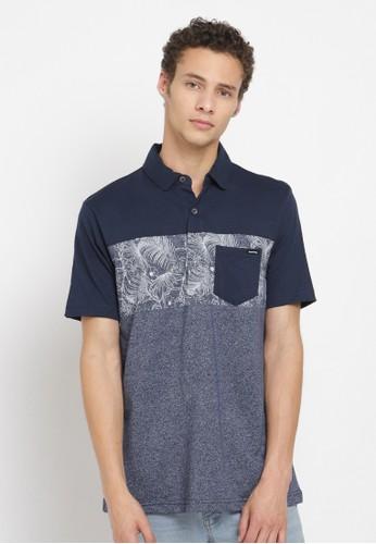 Poshboy blue Poshboy Delwyn Casual Polo Shirt Blue 7229EAA0943AC0GS_1