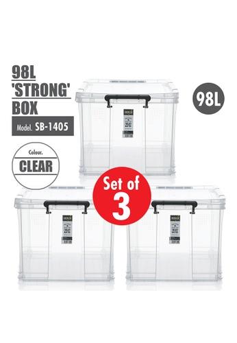 HOUZE [SET OF 3] HOUZE 98L 'STRONG' Box E9C7DHL1079B86GS_1