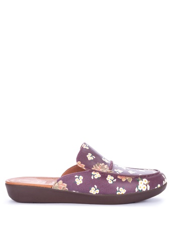 Shop Fitflop Serene Dark Floral Mules Online on ZALORA Philippines cb79c19a6c