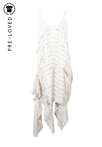 Ann Demeulemeester white Pre-Loved ann demeulemeester Sheer Dress A2AB9AAAD043E7GS_1