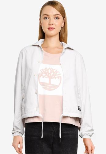 Timberland 白色 YC DWR Workwear Coach 外套 664EEAAFBECB2EGS_1