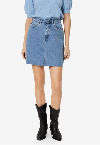 Vero Moda blue Mikky Denim Skirt 54825AA38EA746GS_1