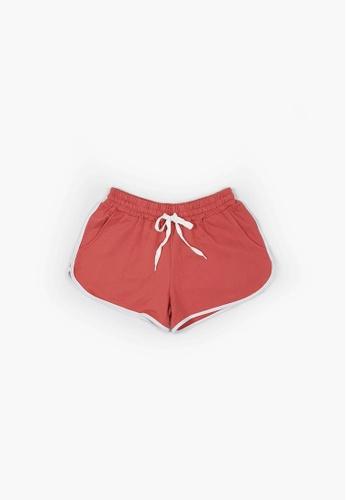Fave red Short Knit Jogger B59FDAA74175A5GS_1