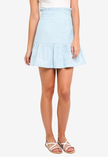 ZALORA multi Paperbag Skirt B014EAAAB21CEDGS_1
