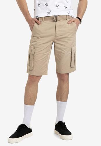 LC Waikiki beige Regular Fit Cargo Shorts 254EFAA3EE021AGS_1