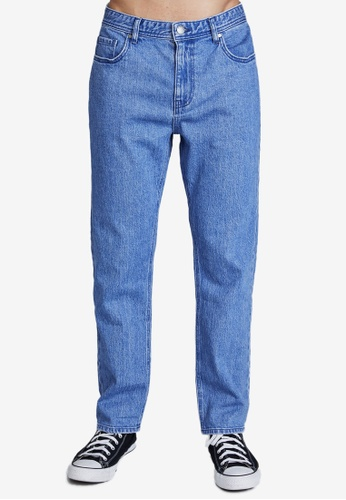 Cotton On blue Beckley Straight Jeans 0ED54AA1EEA4B8GS_1