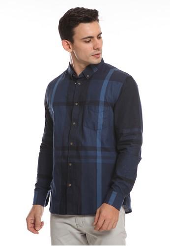 Men's Top blue GIO 3-BLUE Shirt D6B84AA9B0E334GS_1