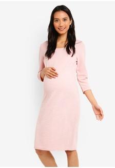 b53ca4c21ce Maternity 3 4 Sleeve Zinnia Dress 6713CAA0F900BBGS 1 Noppies ...