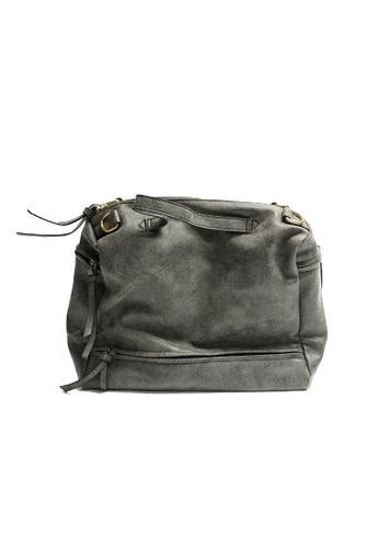 Lara grey Women's Top-Handle Bag B37CAACD4D0C33GS_1