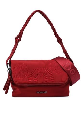 Desigual red Mandalas Sling Bag 5EA66AC6330527GS_1