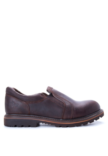 Caterpillar brown BCAT-09 Loafers CA367SH62FMBPH_1