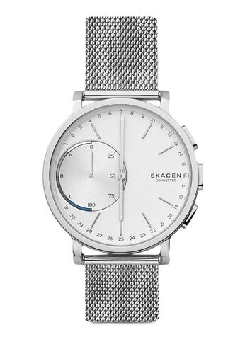 Skagen silver Skagen Hagen Connected Hybrid Smartwatch SKT1100 SK533AC32CKLMY_1