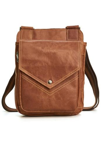 Twenty Eight Shoes Handmade Vintage Leather Sling Bag 6361-2 2A788ACD521221GS_1