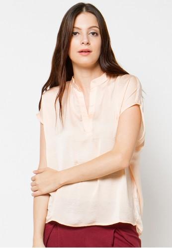 CHANIRA pink Arlene Silk Blouse CH930AA64DAPID_1