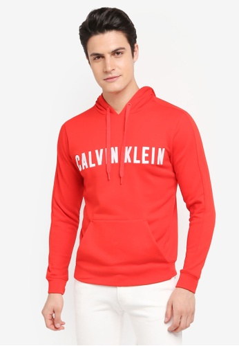 Calvin Klein red Terry HD Pullover - Calvin Klein Performance 1646DAAEC40A39GS_1
