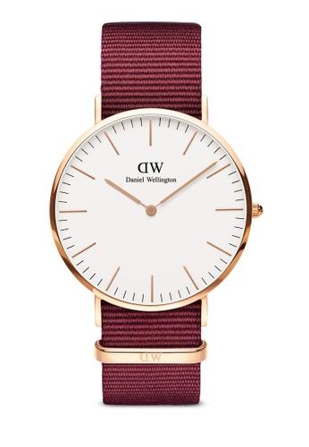 Daniel Wellington gold Classic Roselyn 40mm Rose Gold Watch 49227AC23F3ECDGS_1