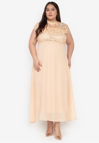 c8d9b08be30 Brielle Maxi Plus Dress