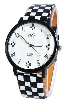 OLJ Mattie Women's Leather Strap Watch LFW019