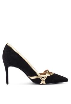 ZALORA black Court Heels With Trim Details 92AF5ZZE15487FGS_1