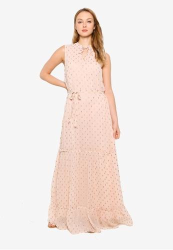 Pieces pink Maribel Sleeveless Maxi Dress F449DAA36AE2B5GS_1