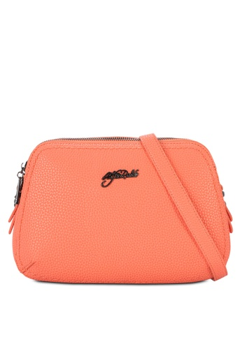 Alfio Raldo orange Classic Sling Bag AL803AC81SXIMY_1