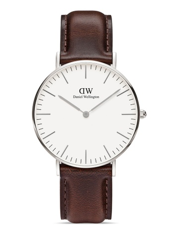 Daniel Wellington silver Classic Bristol 36mm Silver Watch 9BC50AC0D0BCC6GS_1