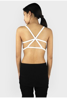 Sexy Caged Back Cut Out Bralette