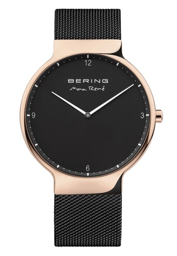 Bering gold Max Rene 15540-262 Black 40 mm Men's Watch 91E8DACD5A3A62GS_1