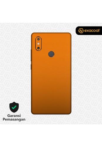 Exacoat Xiaomi Mi Mix 2s 3M Skins True Colors - Pumpkin Orange 619B5ESA525EC2GS_1