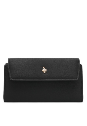 Swiss Polo black Plain Long Wallet 3D5FDAC3C716F1GS_1