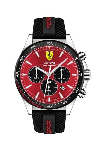 Buy Scuderia Ferrari Scuderia Ferrari Pilota Red Men S Watch 830595 Online Zalora Malaysia