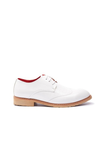 Kings Collection white Virotto Leather Shoes 94E14SHC890016GS_1