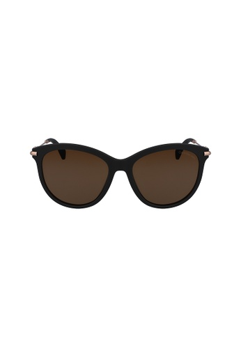 Calvin Klein Eyewear black Round CKJ514SAF Sunglasses 5A9C2GLB52AC2CGS_1