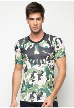 Camouflage Print Tee T-Shirt