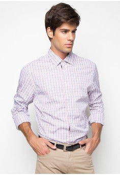 Two Colour Bold Check Shirt