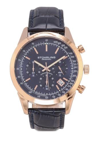 Stuhrling Original gold Rialto 3975L Watch 2C3A8AC9EC76CEGS_1