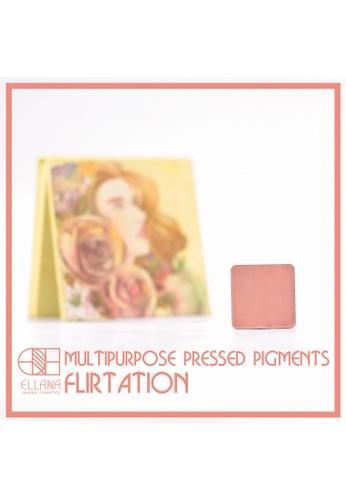 Ellana Mineral Cosmetics pink Multipurpose Pigment Pressed Refill 2g in Flirtation EL322BE65JWGPH_1