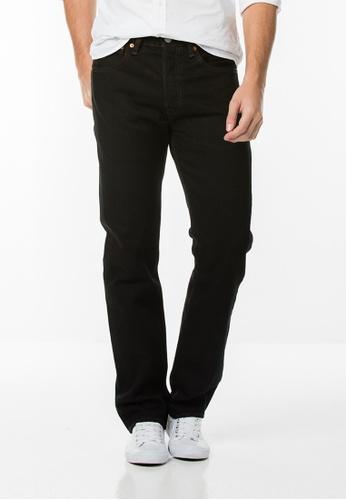 Levi's black Levi's 501 Original Fit Jeans LE815AA83FZOMY_1