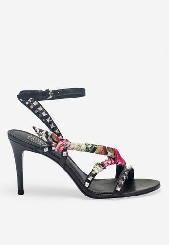 Ash 黑色 ASH Heidi  涼鞋 -黑色 6AFD0SHDED6BD8GS_1