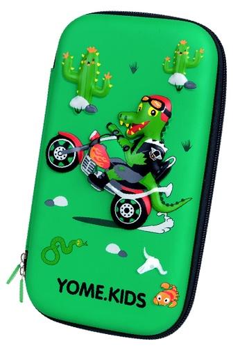 Yome green YOME Pencil Case Biker Crocodile F869DKC91CEEE3GS_1