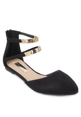Finlesprit童裝門市and 雙踝帶包跟平底涼鞋, 女鞋, 鞋