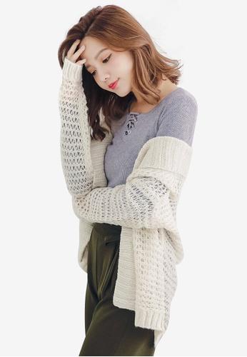 Sesura beige Ultimate Cozy Knit Cardigan CEC0AAA022CA6FGS_1