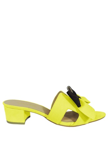 Jacque yellow Azura Yellow Low Heel JA262SH93WNAMY_1