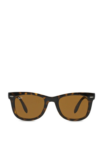 7cb09bcfcbc6 Buy Ray-Ban Wayfarer Folding RB4105 Sunglasses Online on ZALORA ...