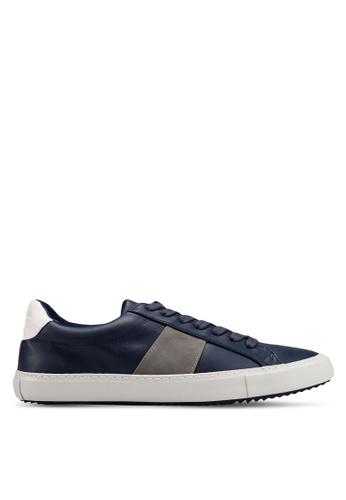 Topman 海軍藍色 Harry Pops Shoes 11360SHD11F016GS_1