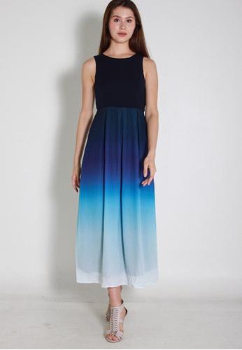 Buy Leline Style Elara Ombre Maxi Dress | ZALORA Singapore