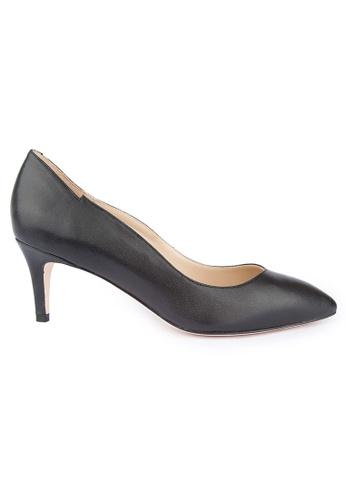 MAUD FRIZON black Soft kid mid heel pumps MA153SH77YDIHK_1