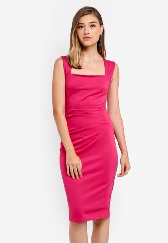 Dorothy Perkins pink Pink 'Lara' Bodycon Dress DBC20AA2FC490FGS_1